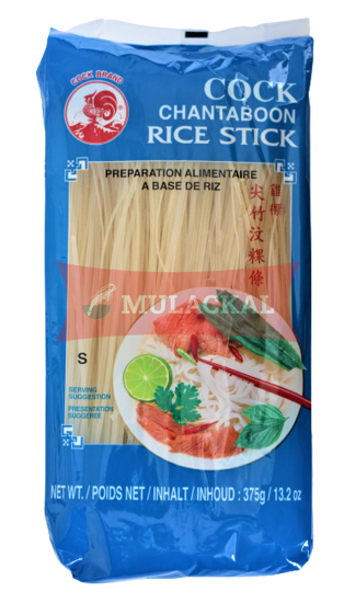 COCK Rice Noodle (Rice Stick) 1mm  375g