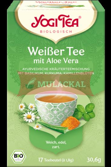YOGI TEA Weißer Tee mit Aloe Vera Bio 30.6g