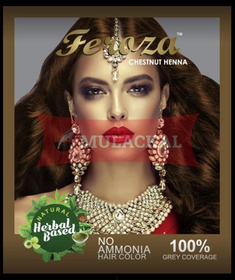 FEROZA Henna Chestnut Color 60g