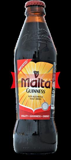 Guinness Malta Bottle 330ml