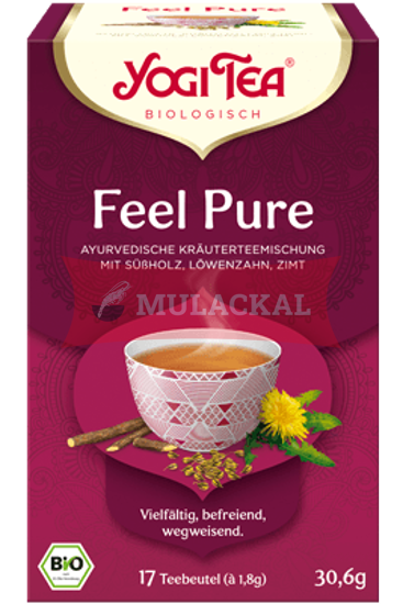 YOGI TEA Feel Pure Bio 30.6g