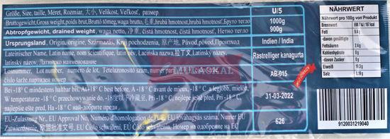 MULACKAL Indian Mackerel U5 1kg