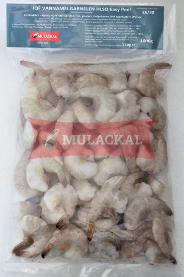 MULACKAL Shrimps Easy Peel HLSO 26/30 1kg