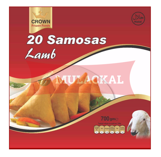 CROWN Lamb Samosa 20Pcs 700g