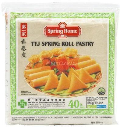 SPRING HOME Springrollsheet 40 sheet 550g