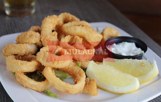 Squid rings breaded 40/60 500g