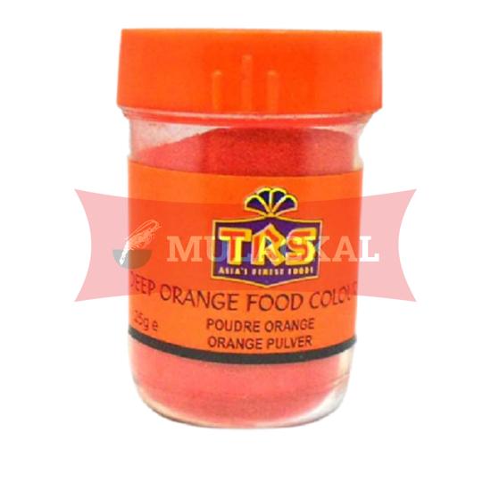 TRS Food Colour Orange Deep 12x25g