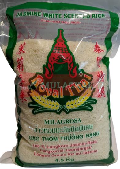 ROYAL THAI Fragrant Rice Jasmine 4x4.5kg